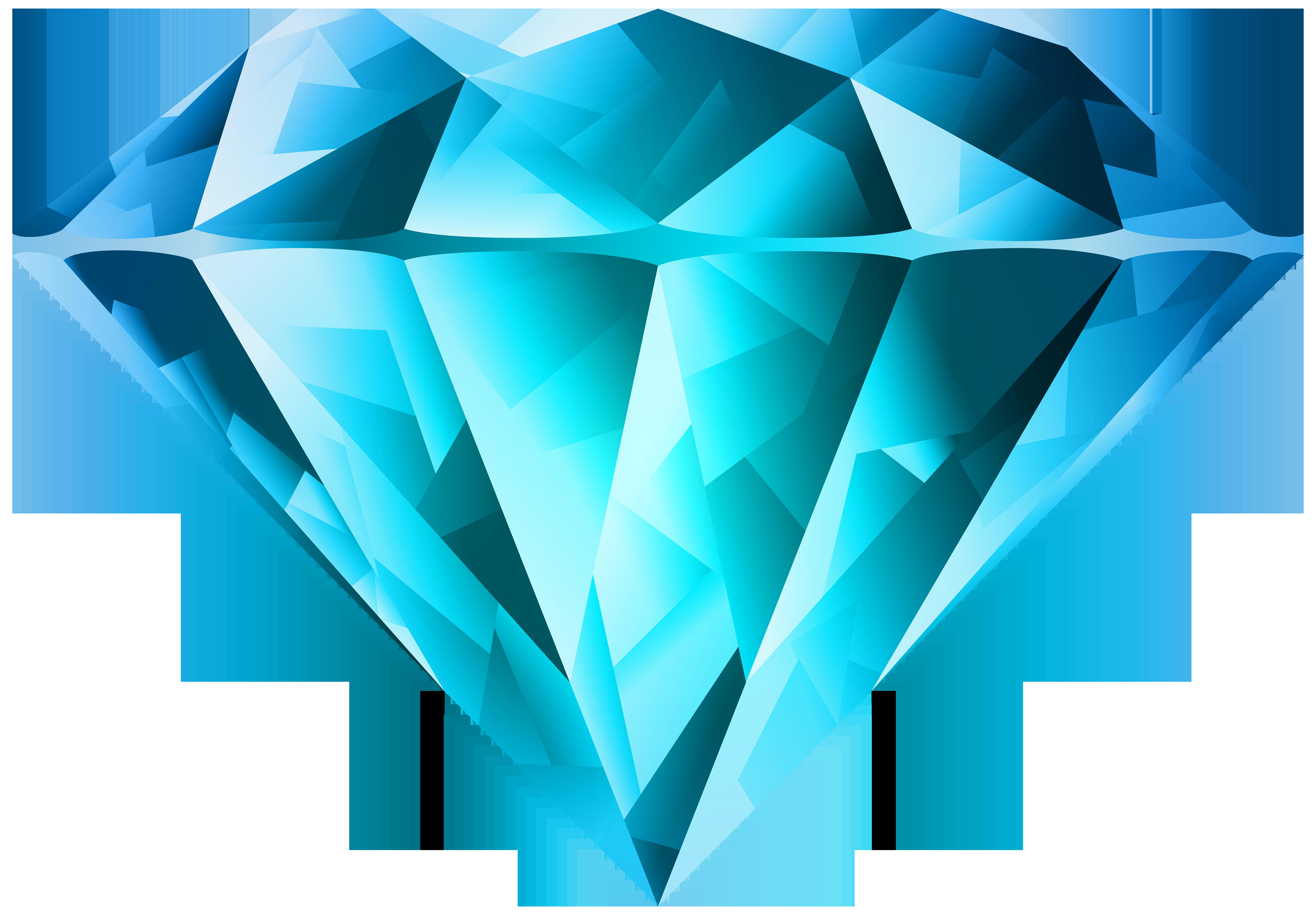 Blue transparent png clip. Diamond clipart dimand