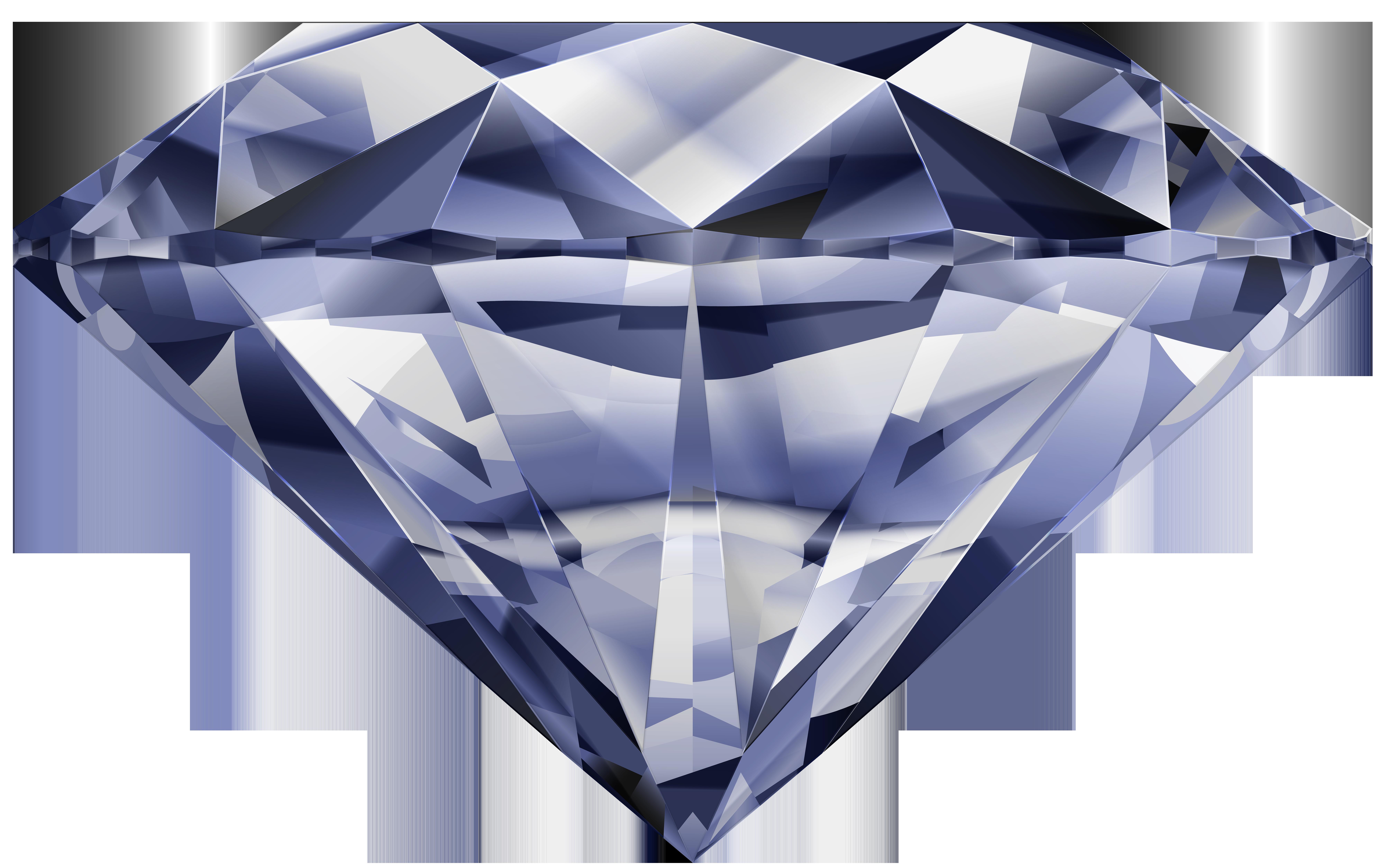 Clipart diamond rock. Png clip art image