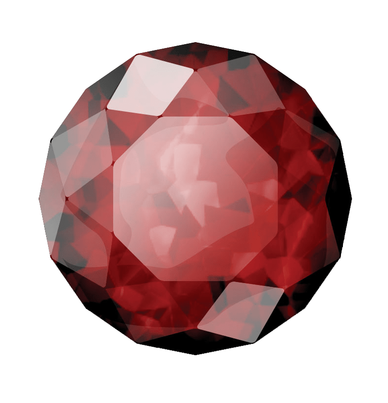Diamond clipart ruby. Polished transparent png stickpng