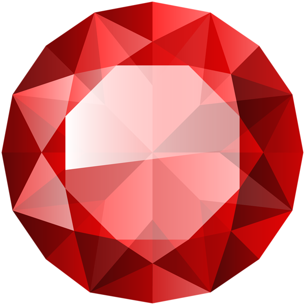 Clipart rock diamond. Red transparent clip art