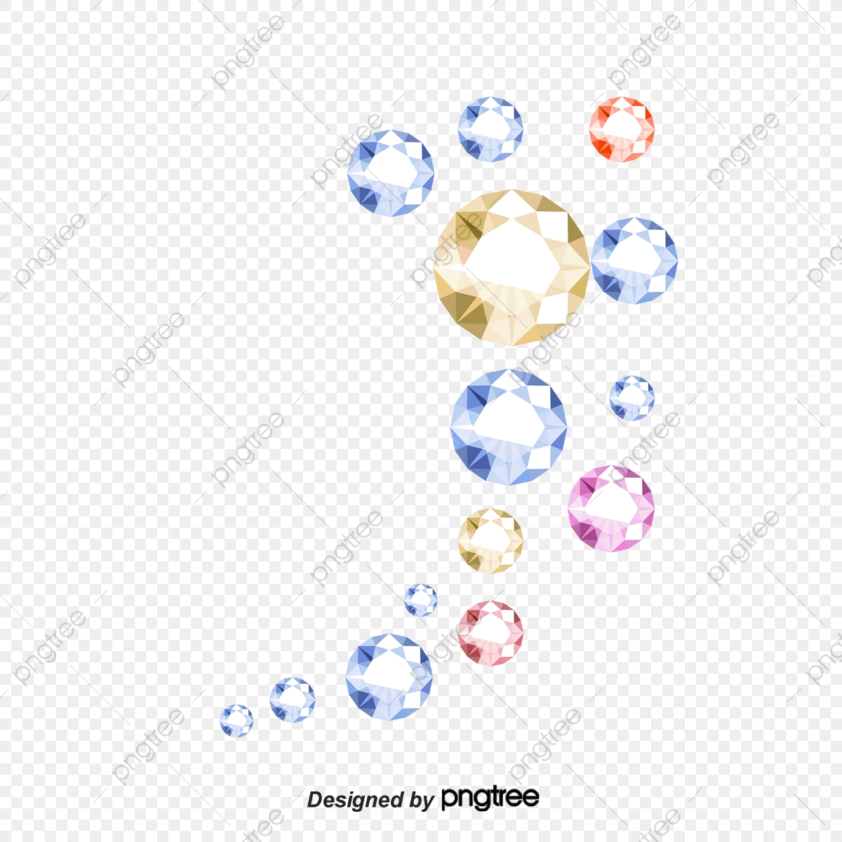 Vector background . Diamond clipart shading