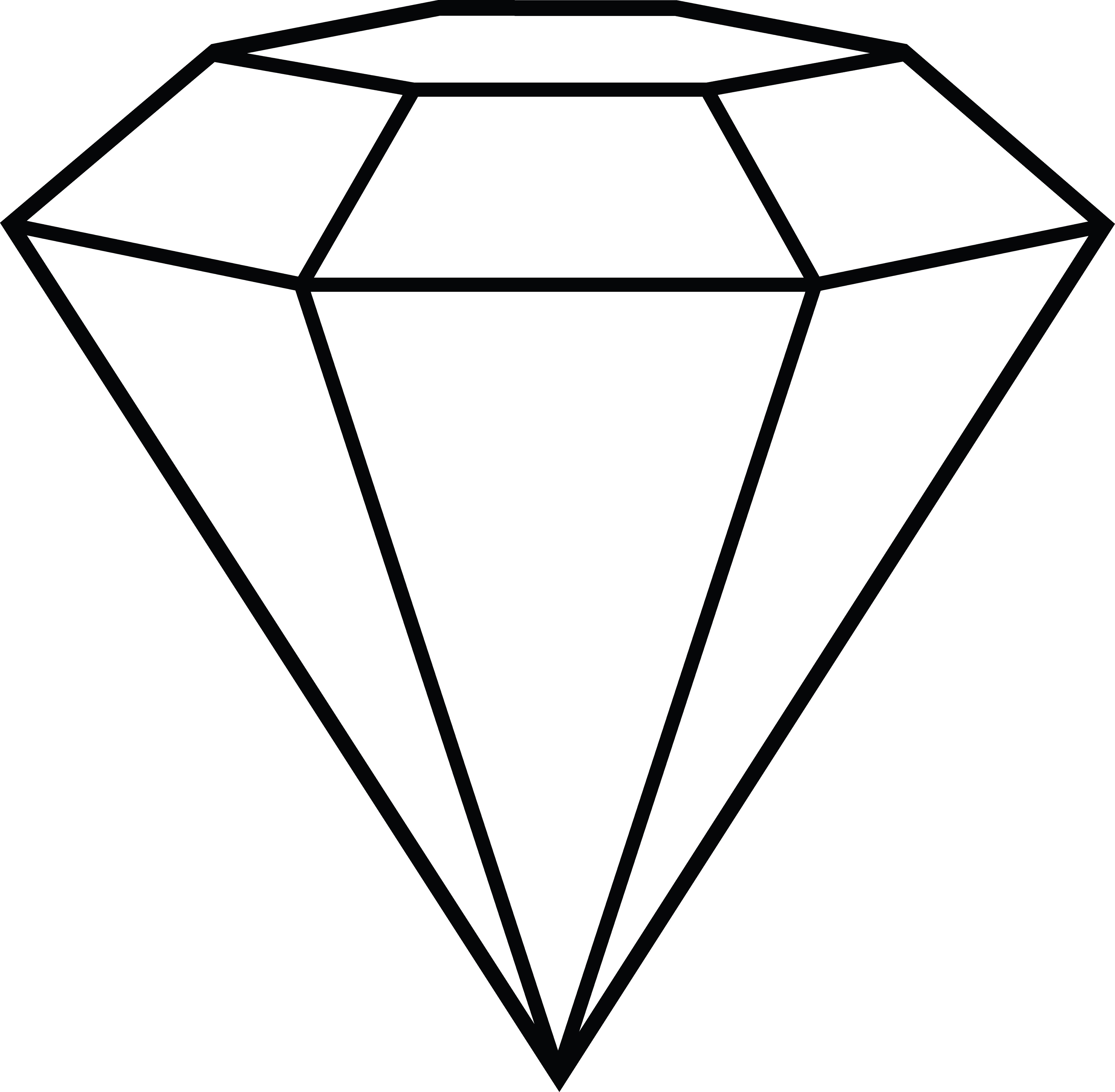 Diamon drawing at getdrawings. Clipart diamond shiny diamond
