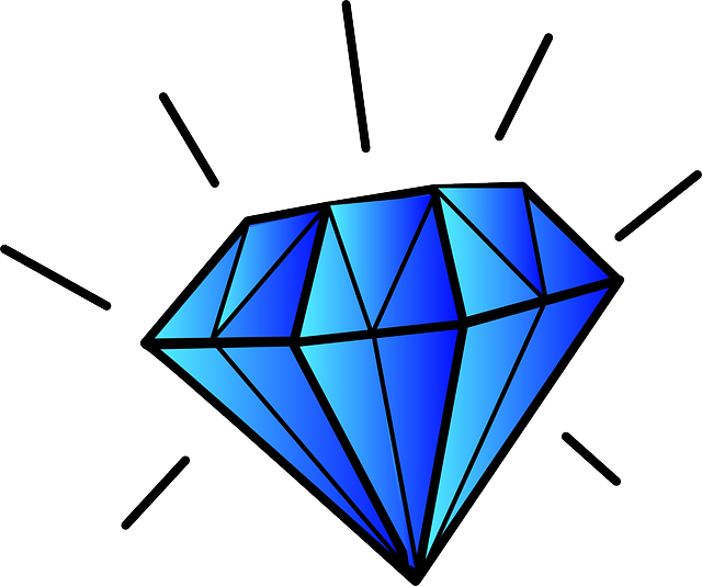 Free image on pixabay. Square clipart jewel