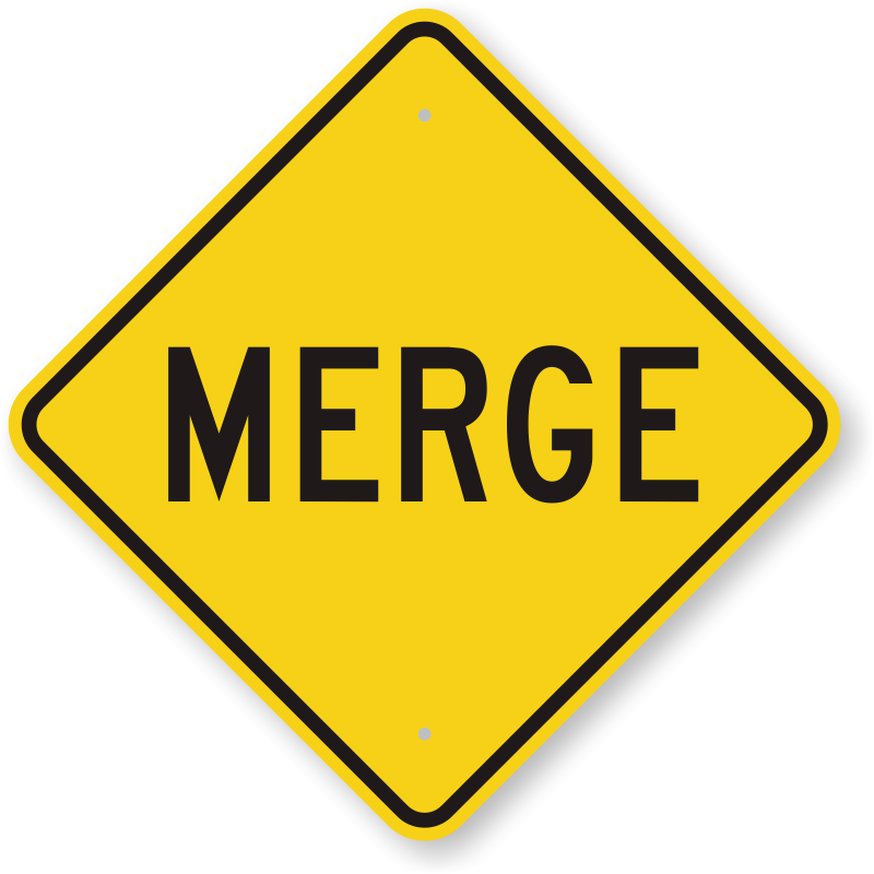 Clipart diamond sign. Merge road traffic control