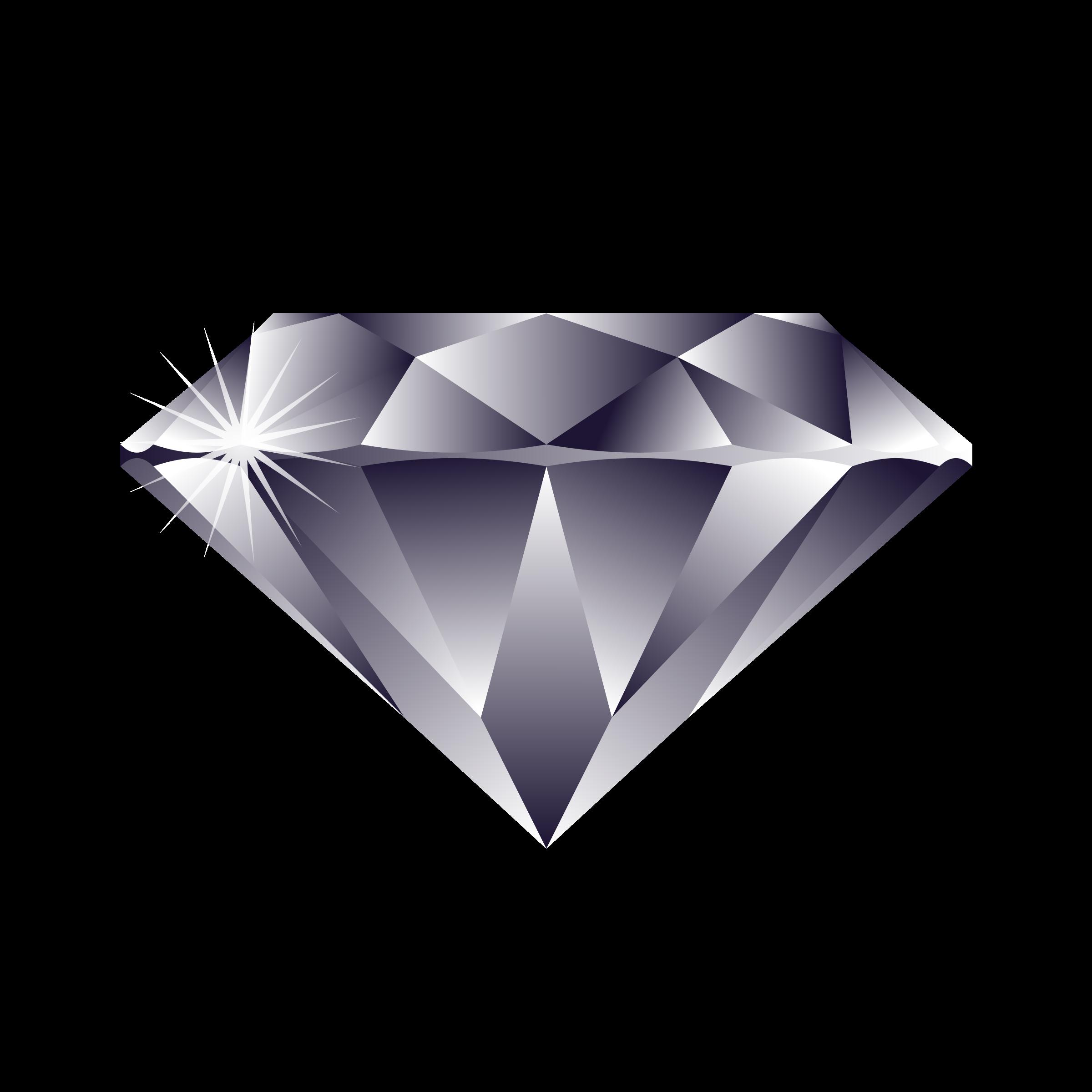 clipart diamond silver diamond