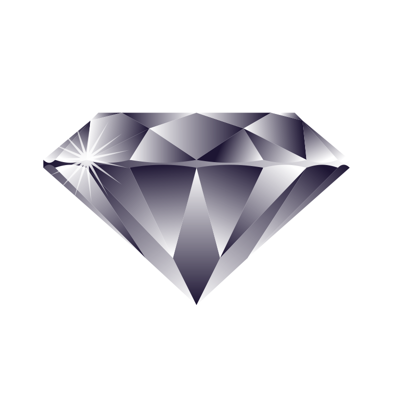Diamond png vector.  collection of clipart