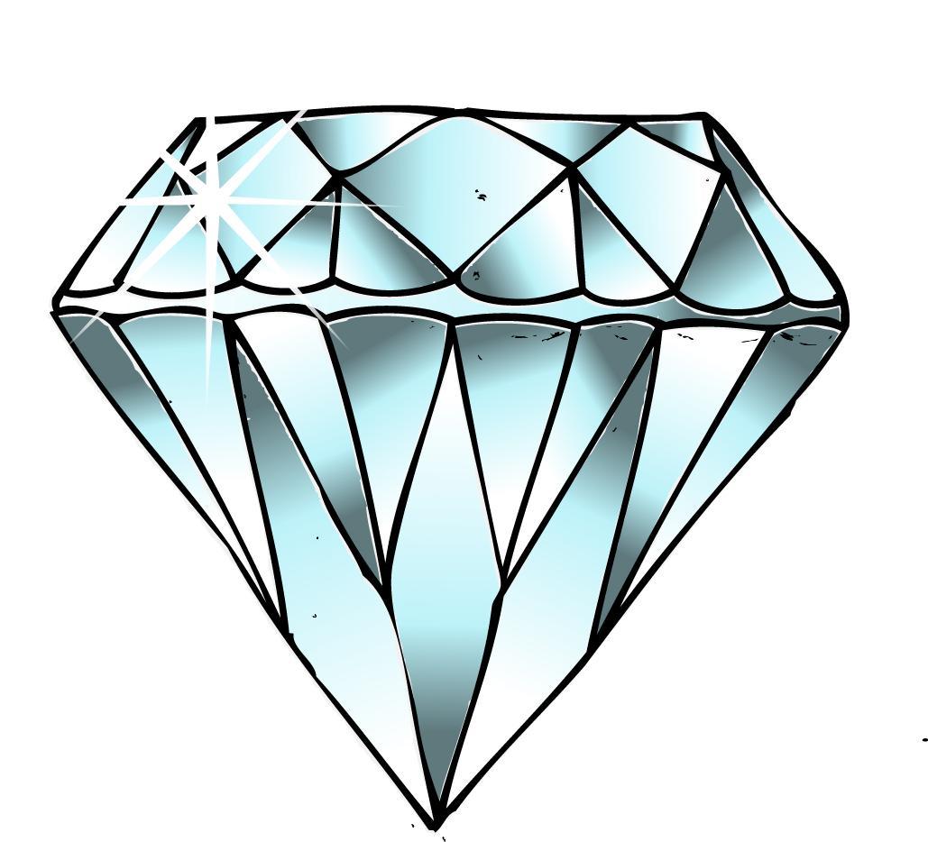 Diamonds clipart single. Free download best on