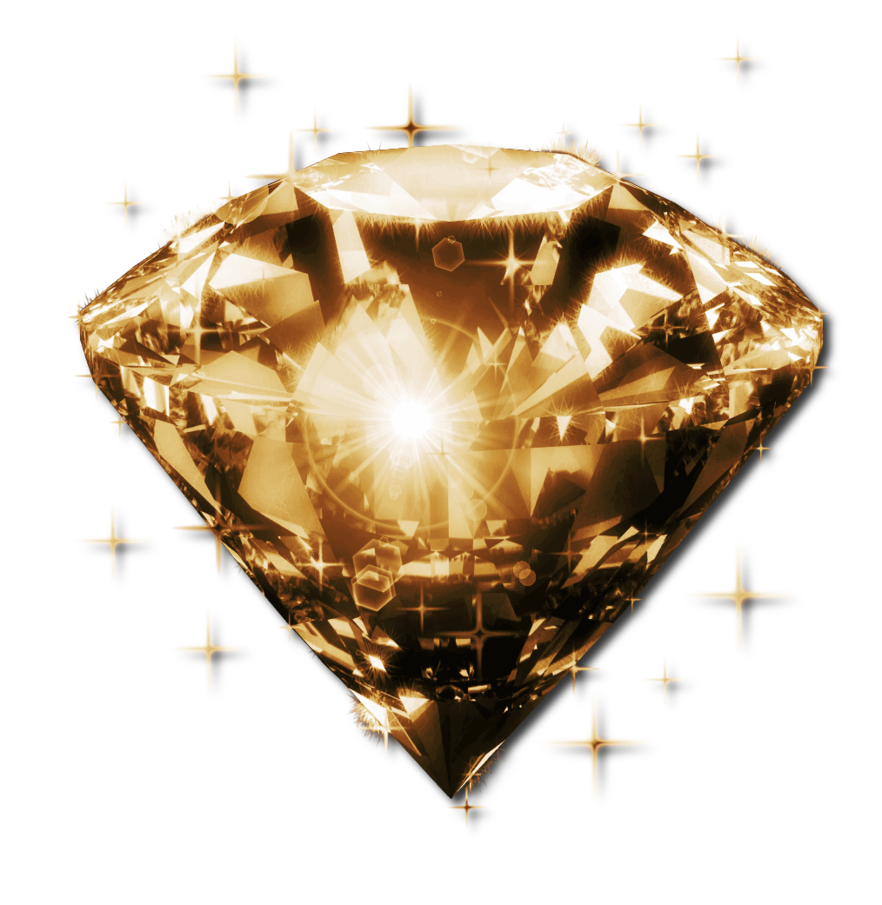 Golden glow png by. Diamond clipart sparkling diamond