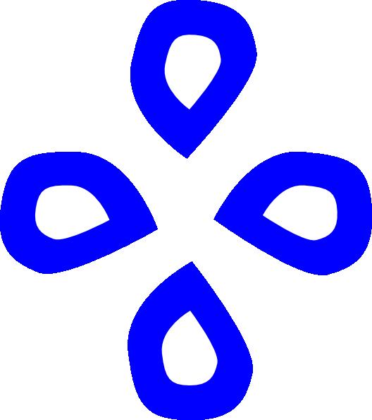 Water clipart shape. Blue diamond clip art