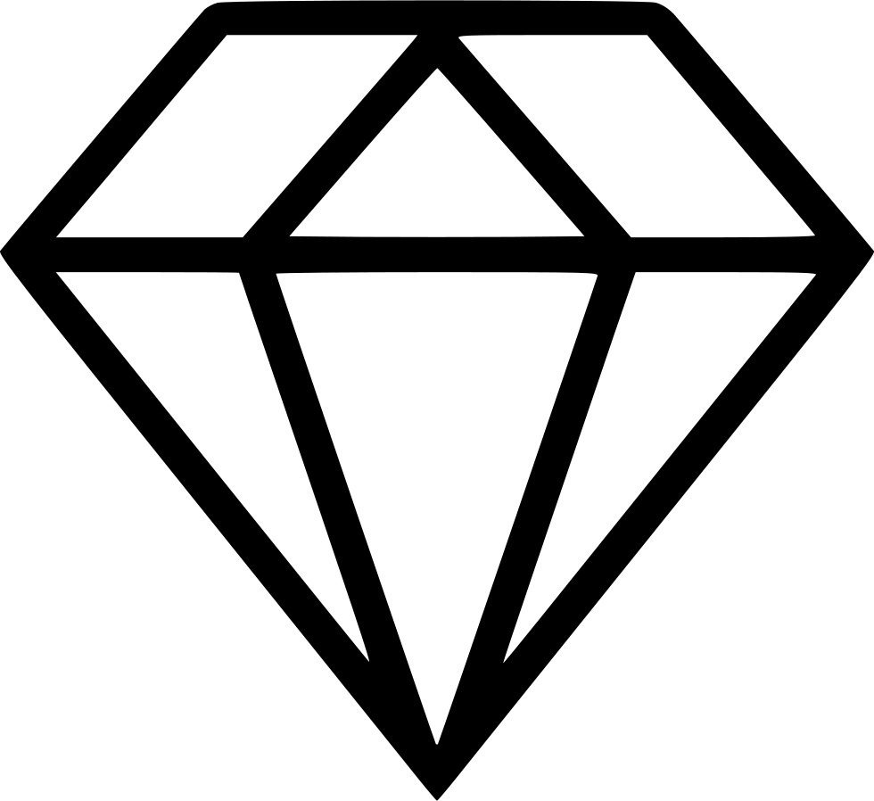 Png icon free download. Clipart diamond svg
