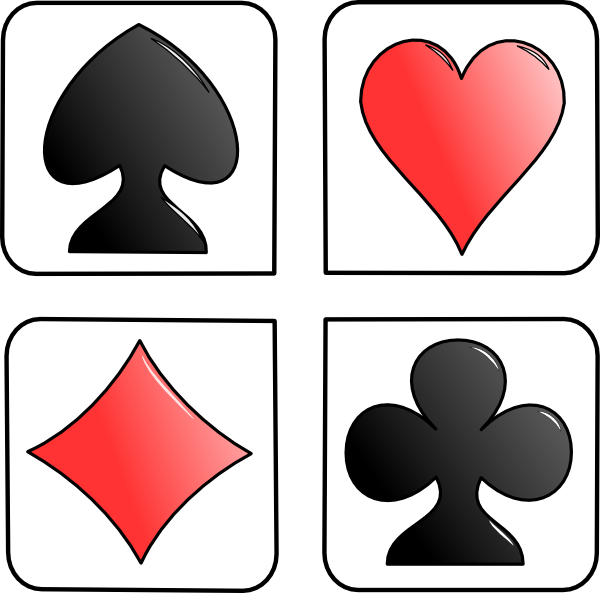 Card symbols clip art. Clipart diamond symbol