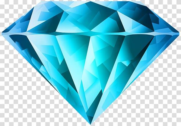 Diamond clipart teal. Color blue red transparent