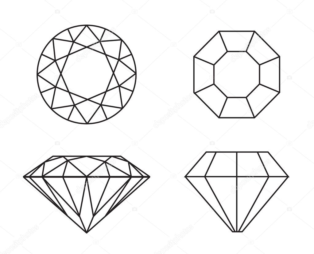 Diamond clipart top. Drawing images at paintingvalley