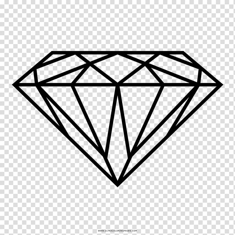 Diamond clipart clear background. Drawing carat jewellery transparent