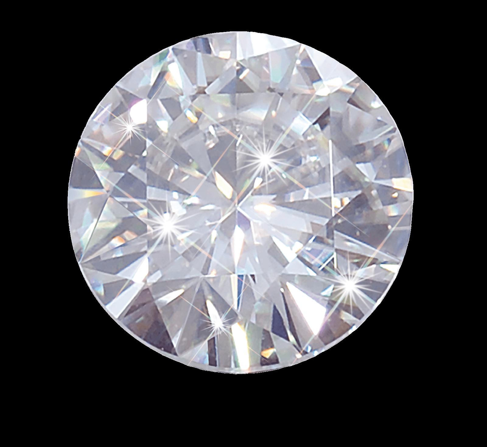 Round white diamond transparent. Jewel clipart daimond