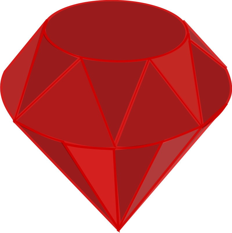 Red ruby stone png. Clipart diamond treasure
