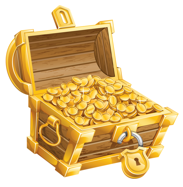 Chest png picture pirate. Treasure clipart rock