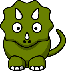 Dinosaur clipart. Free dinosaurs dragons pinterest