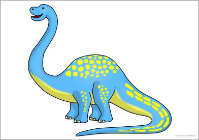 Dinosaurs clipart apatosaurus. Giant dinosaur picture for