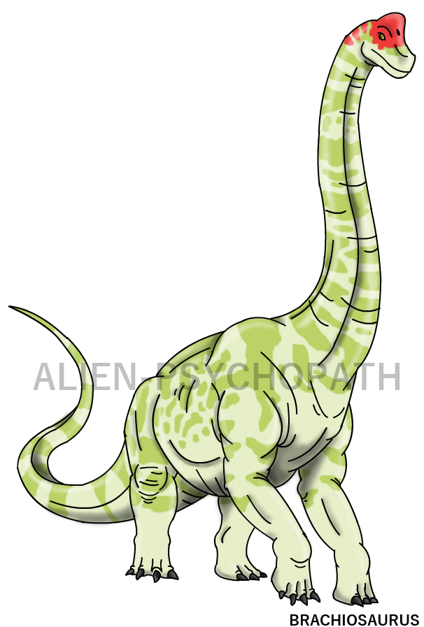 Clipart dinosaur brachiosaurus. Jurassic park male by