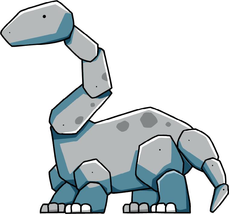 Apatosaurus scribblenauts wiki fandom. Clipart dinosaur brachiosaurus