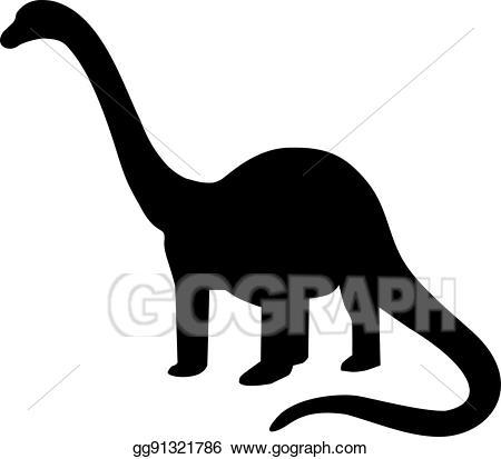 Clipart dinosaur brachiosaurus. Clip art vector brontosaurus