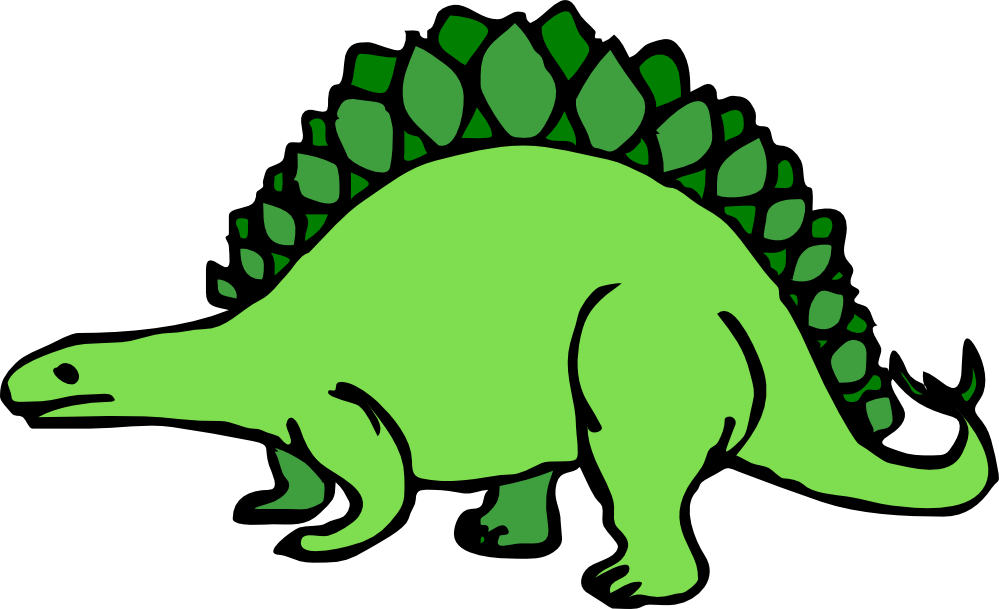 Dinosaurs clipart vector. Clipartist net clip art