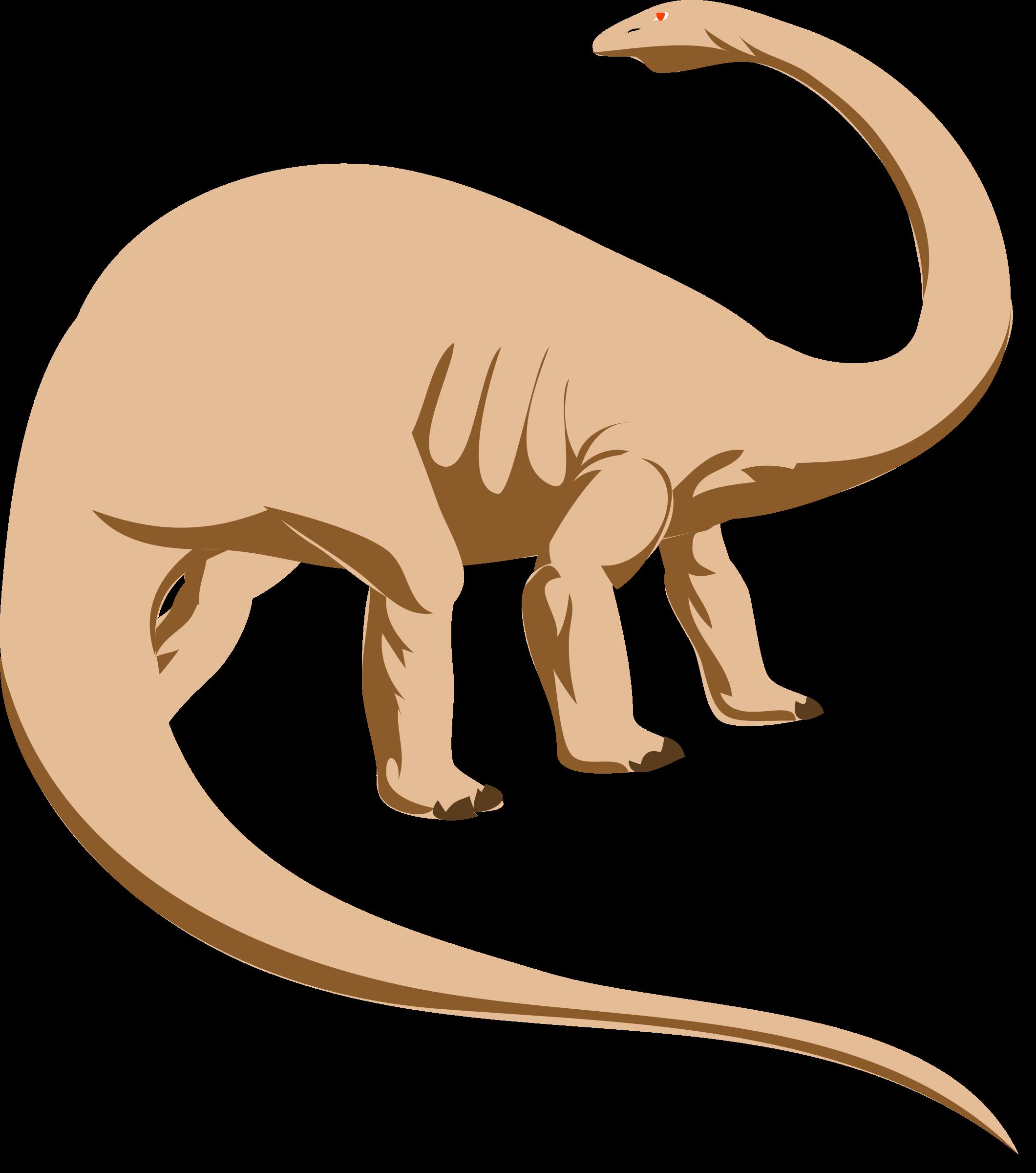 Dinosaur clipart brontosaurus. Architetto dino big image
