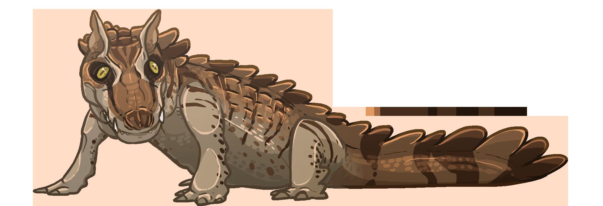 crocodile clipart dinosaur