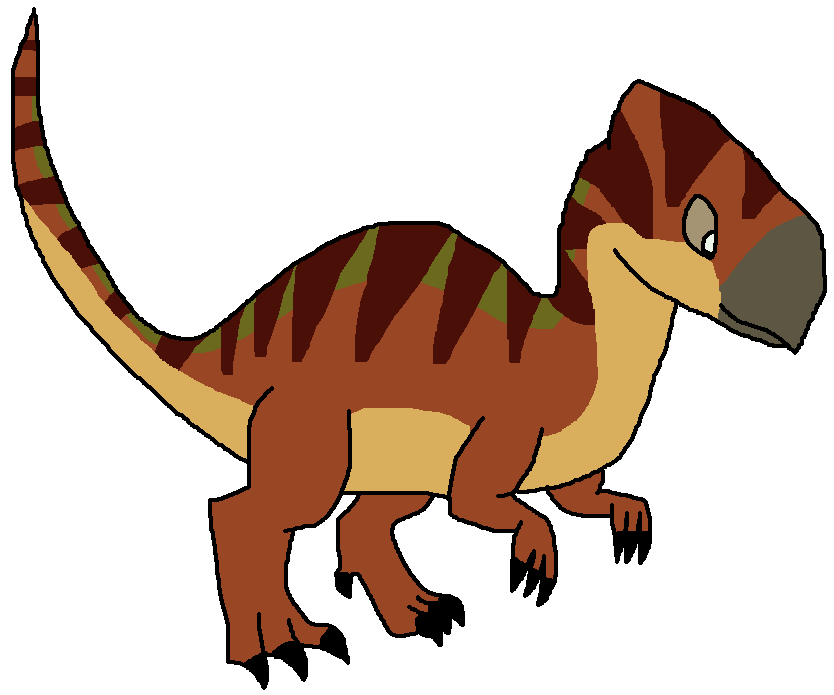 Clipart dinosaur dinosaur extinction. Zalmoxes pedia wikia fandom