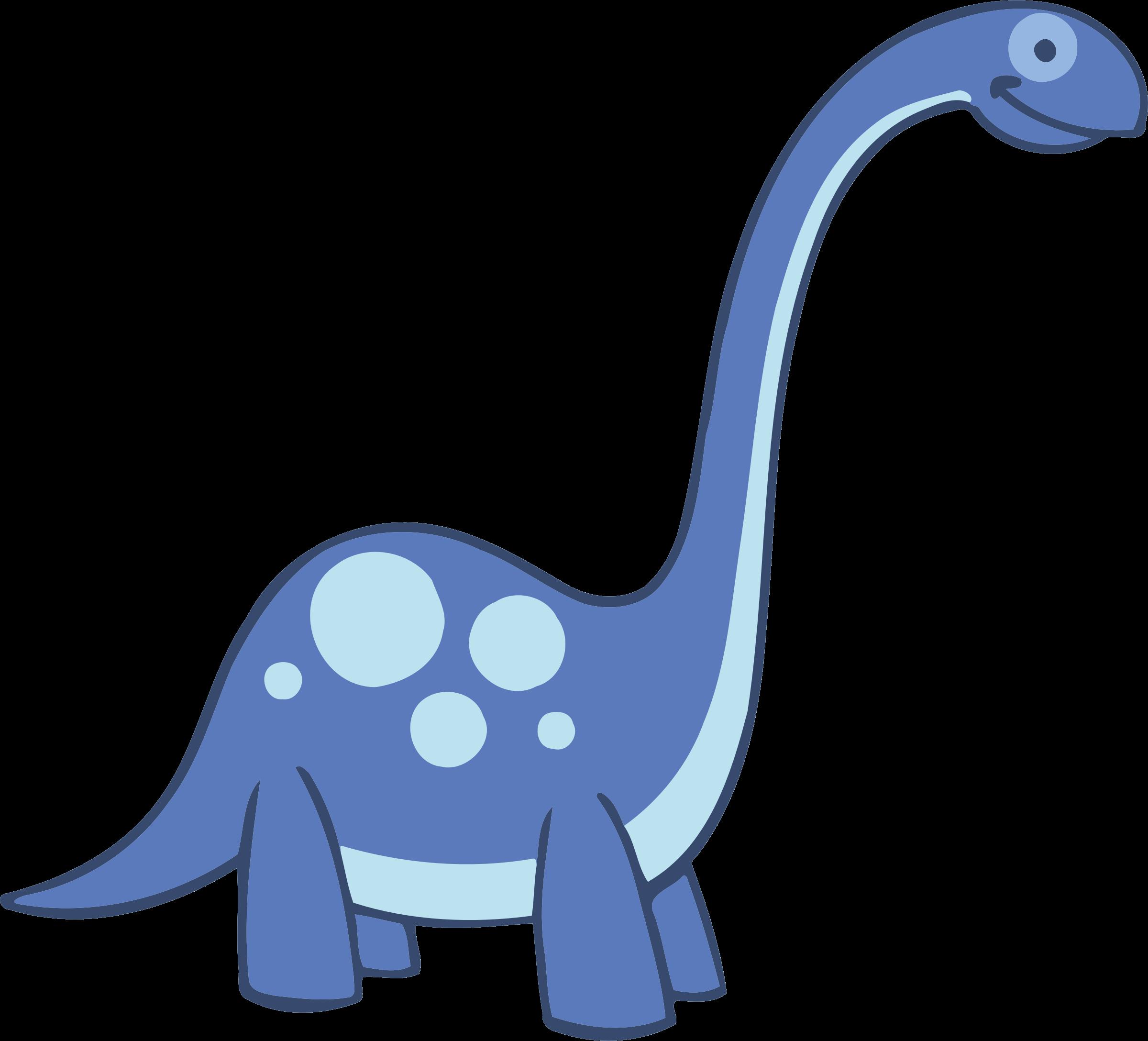 Brontosaurus clip art openclipart. Clipart dinosaur dinosaur extinction