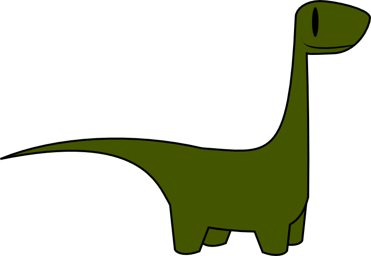 collection of simple. Dinosaur clipart easy