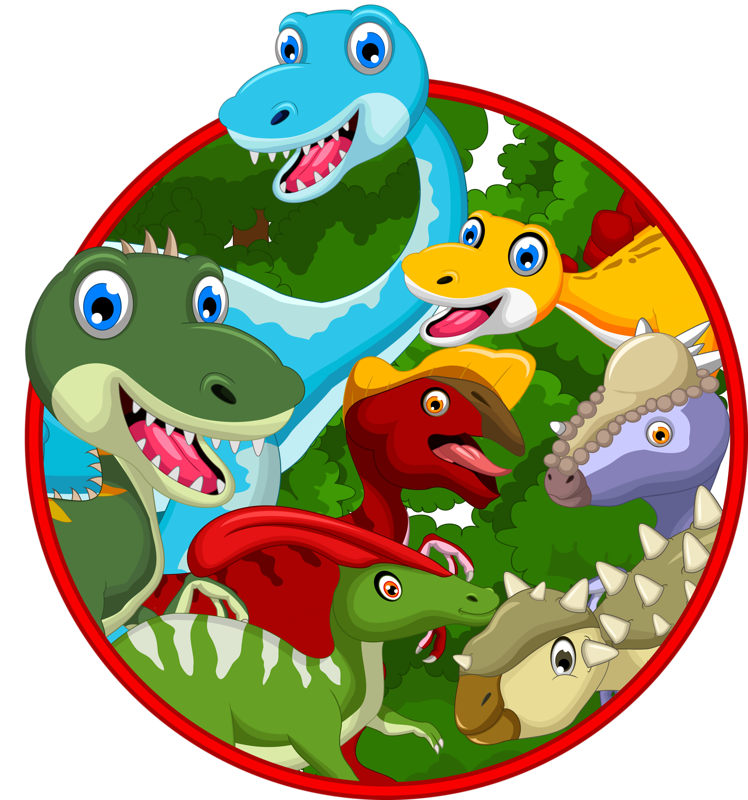 png craft cartoon. Clipart dinosaur frame