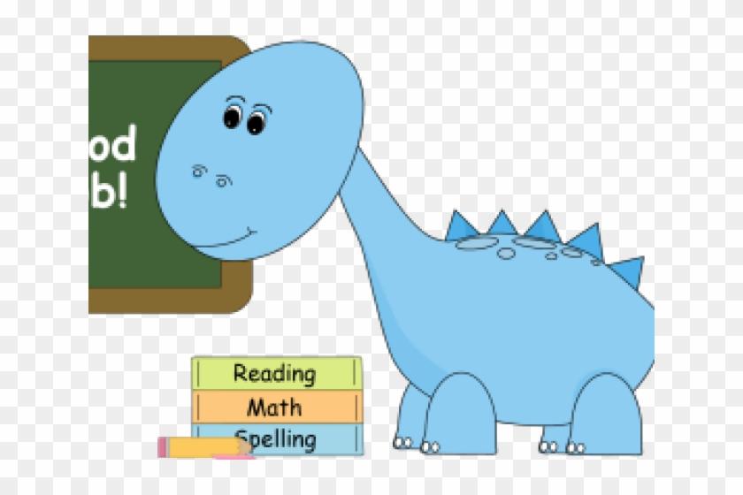 At school cartoon hd. Clipart dinosaur friend