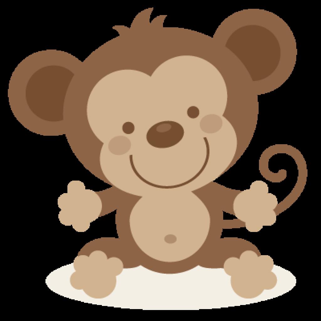 Cute monkey cross hatenylo. Clipart dinosaur group