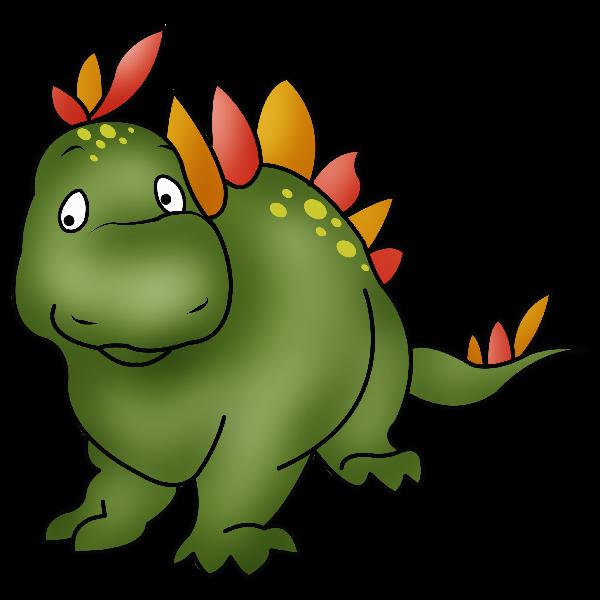Cute cartoon dinosaur clip. Dinosaurs clipart group