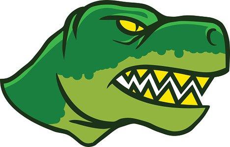 Clipart dinosaur head. Dinosaurs side view premium