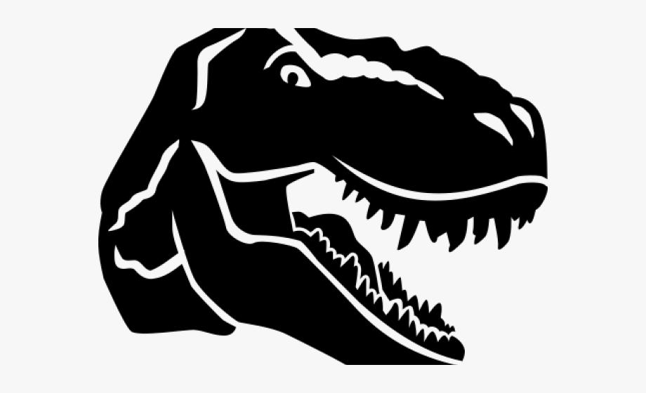 Dinosaurs clipart dinosaur head. Skull t rex clip