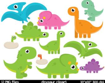 Baby transparent cute easy. Clipart dinosaur kawaii