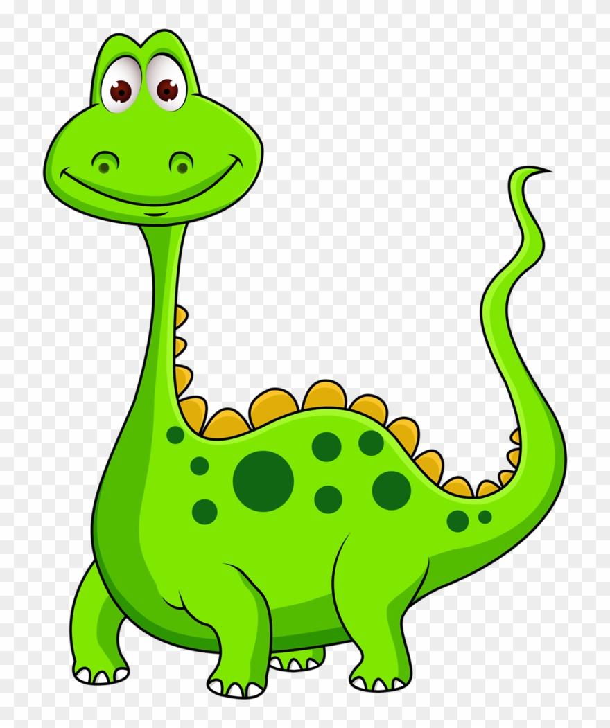 Dinosaurs cartoon transparent . Dinosaur clipart lime green