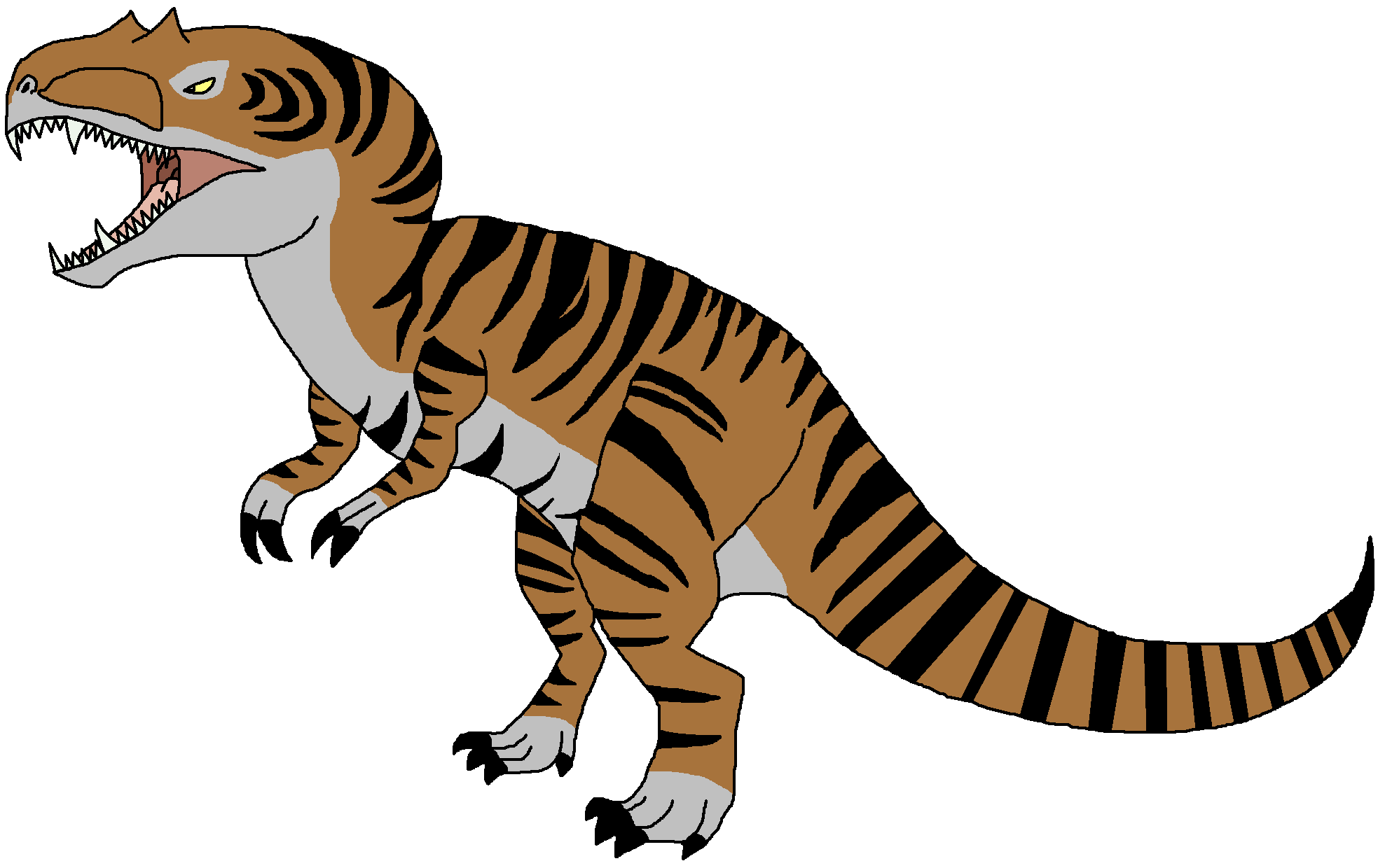 Dinosaur clipart megalosaurus. Metriacanthosaurus pedia wikia fandom