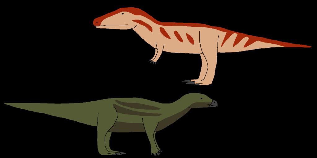 Dinosaur clipart megalosaurus. First discoveries by wildandnaturefan
