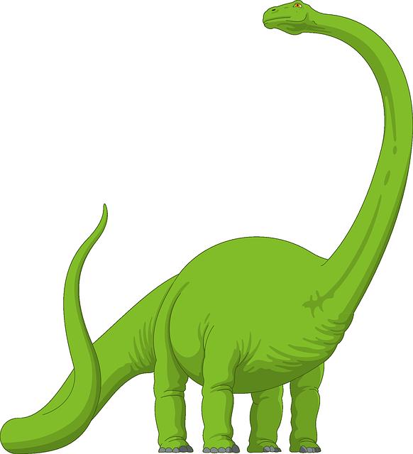 Brachiosaurus diplodocus apatosaurus tail. Dinosaur clipart megalosaurus