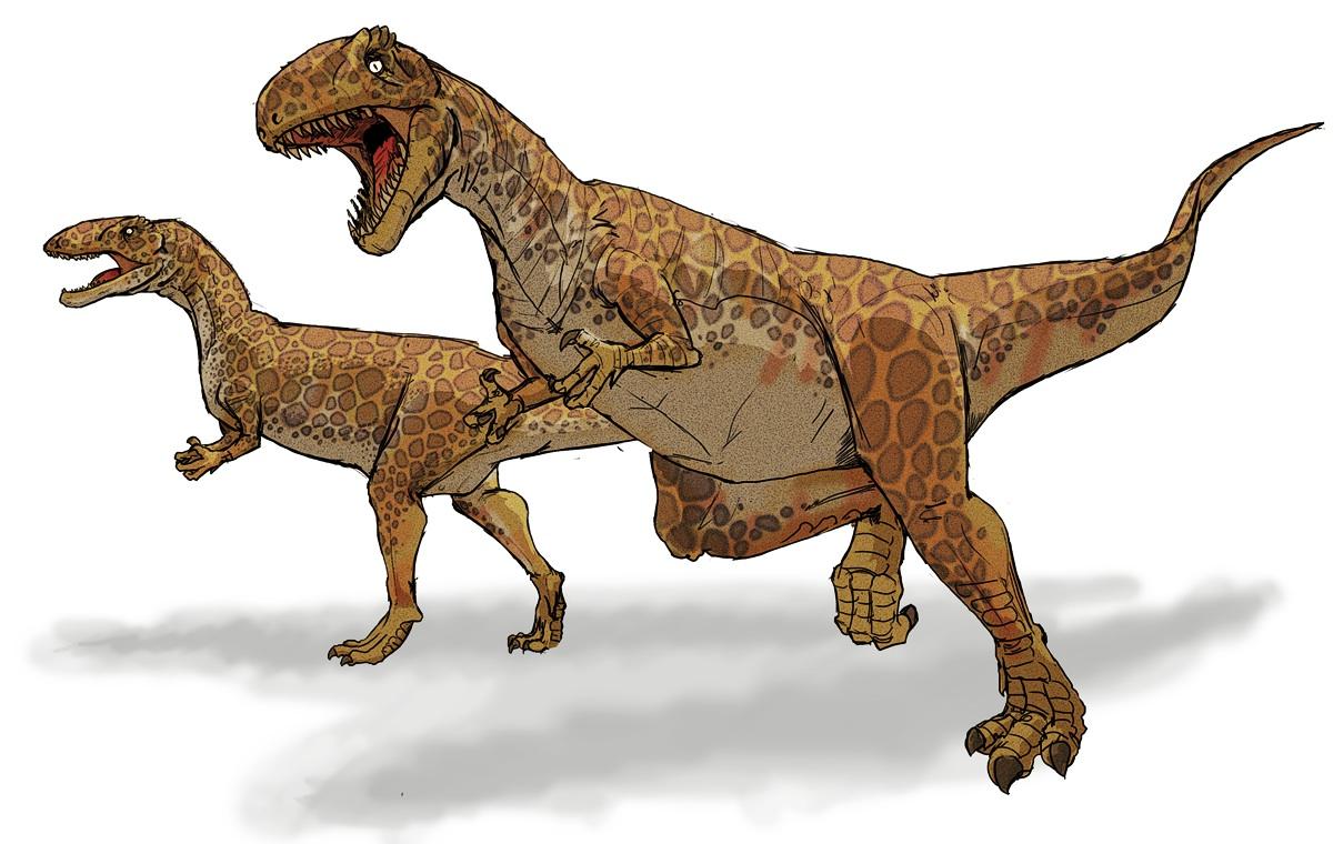 Dinosaur clipart megalosaurus. And did those feet