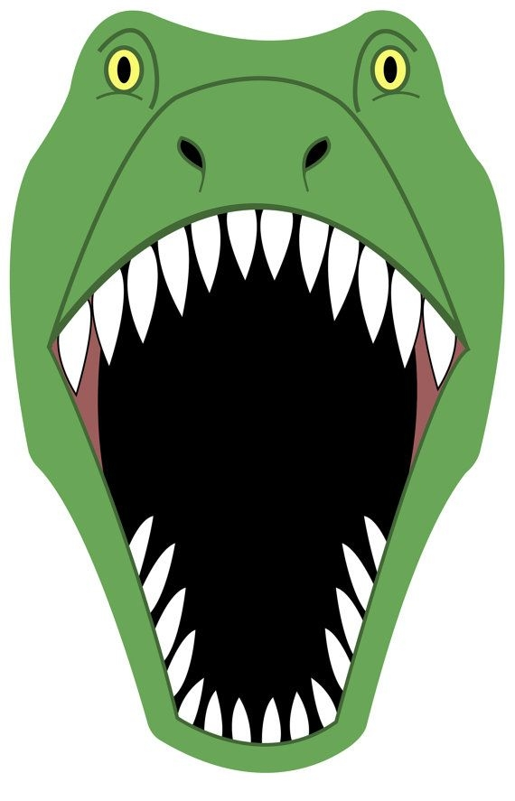 Clipart dinosaur mouth. Clip art vector images
