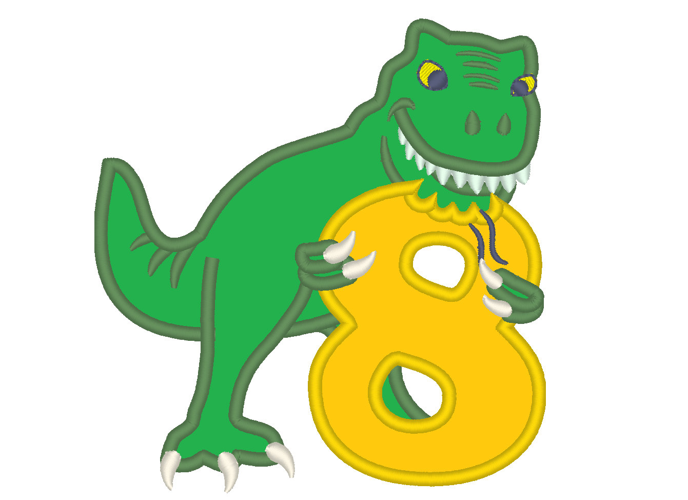 T rex free download. Clipart dinosaur number
