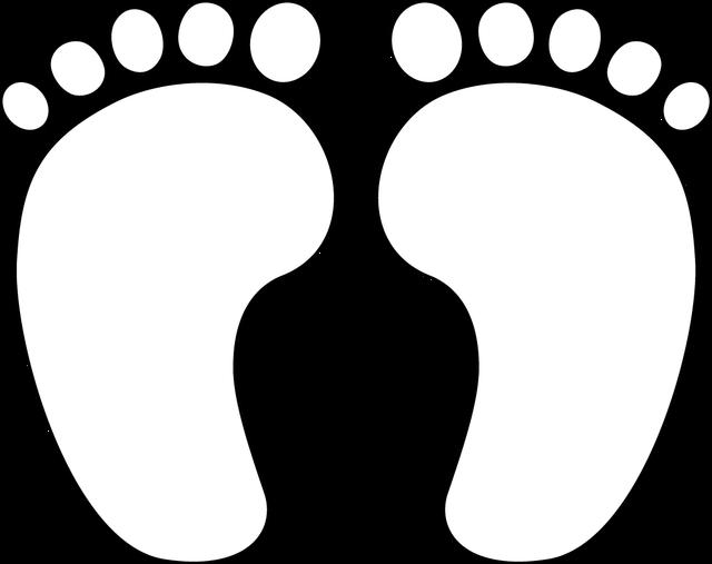 Dinosaur clipart outline. Baby feet best photos