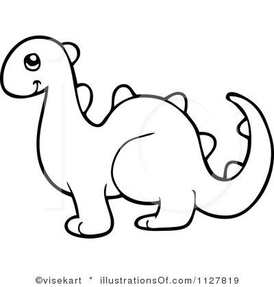 Outline panda free images. Dinosaur clipart simple