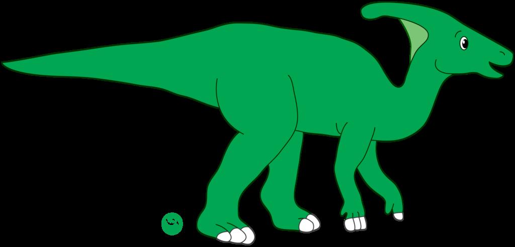 Clipart dinosaur parasaurolophus. Dave the by dinolover