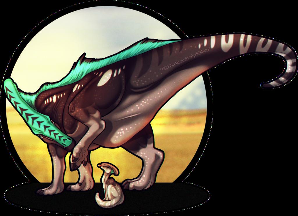 Don t step on. Clipart dinosaur parasaurolophus